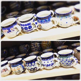 可愛いマグカップの写真・画像素材[2422686]