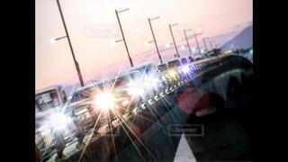 車と夜景の写真・画像素材[2423391]