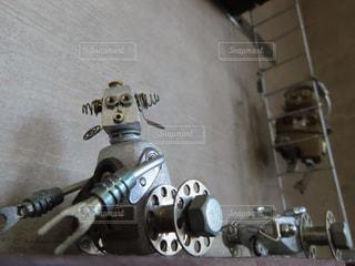働くロボットの写真・画像素材[2429671]