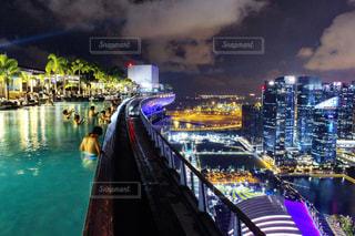 夜景の写真・画像素材[688957]