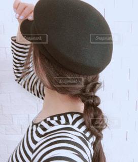 帽子をかぶった人の写真・画像素材[2951563]