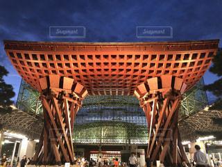 大きな建物の写真・画像素材[2426906]