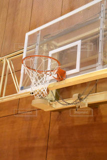 バスケットボールのクローズアップの写真・画像素材[2429270]