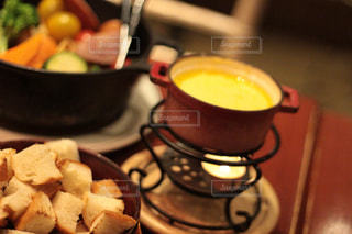 チーズフォンデュの写真・画像素材[2433577]