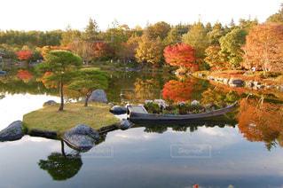 日本庭園の写真・画像素材[2447061]