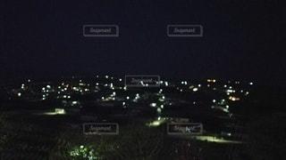 夜の街の眺めの写真・画像素材[2436041]