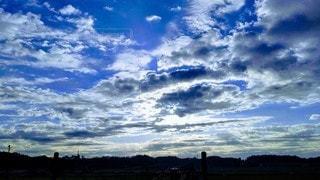 空の雲の群の写真・画像素材[2727641]