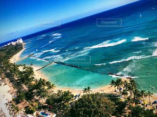 ハワイのホテルからの景色の写真・画像素材[2455225]