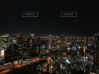 大阪の夜の写真・画像素材[2437231]