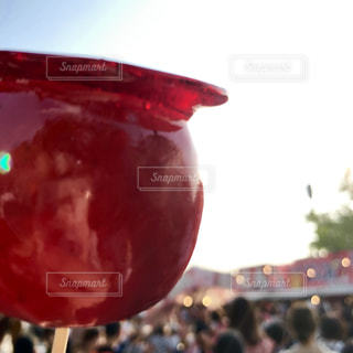 りんご飴♥の写真・画像素材[2440035]