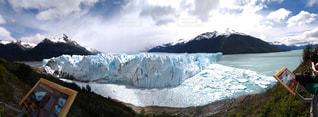 アルゼンチン、ペリト・モレノ氷河の写真・画像素材[2444930]