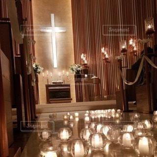 ル・アンジェ教会の写真・画像素材[2438675]