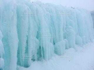 氷柱の写真・画像素材[2438698]
