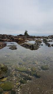富山県 雨晴海岸の写真・画像素材[2438708]