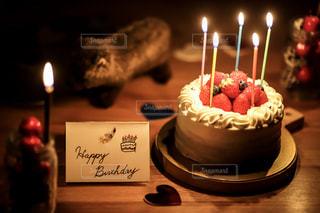 BIRTHDAY CAKEの写真・画像素材[2441176]