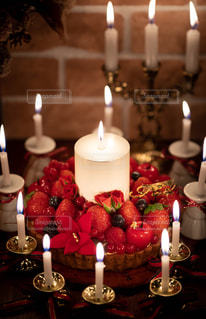 クリスマスケーキの写真・画像素材[2820620]