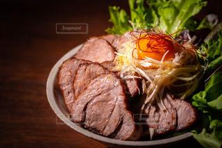 チャーシュー丼の写真・画像素材[3180242]