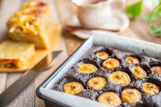 チョコバナナケーキの写真・画像素材[3498014]