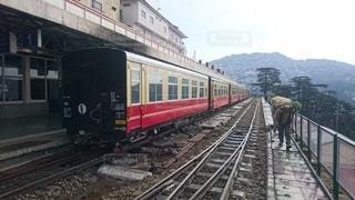 シムラー・カルカ鉄道の写真・画像素材[2567703]