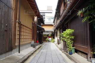 京の小道の写真・画像素材[2449057]