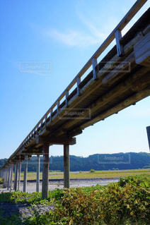 蓬莱橋の写真・画像素材[2470455]