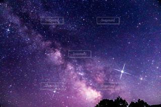 天の川の写真・画像素材[2449320]