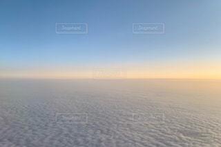 飛行機から見た雲海の写真・画像素材[2654026]