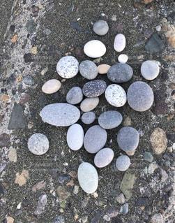 海岸の石の写真・画像素材[2698982]