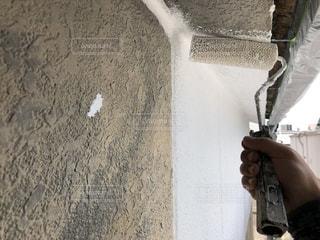壁模様替え 外壁塗り替え工事の写真・画像素材[2450893]