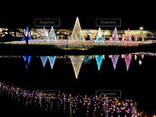 冬の軽井沢プリンスショッピングプラザの写真・画像素材[3919693]
