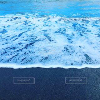 海の波の写真・画像素材[2489926]