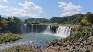 原尻の滝の写真・画像素材[2459948]