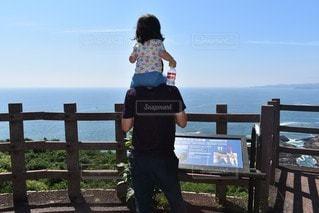 仲良し親子の写真・画像素材[2459953]
