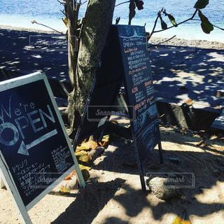 浜辺のカフェの写真・画像素材[2453753]