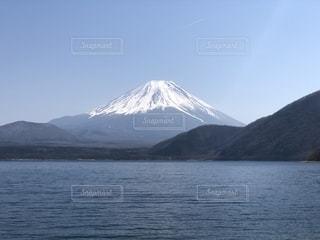 本栖湖の写真・画像素材[2737287]