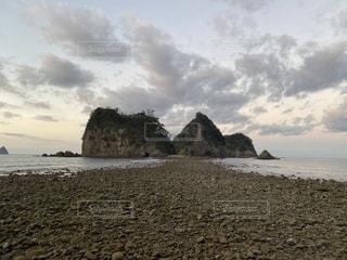 堂ヶ島トンボロの写真・画像素材[2742524]