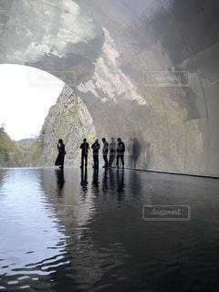 清津峡渓谷トンネルの写真・画像素材[2459545]