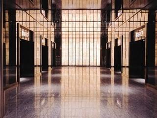ビル、エレベーターホールの写真・画像素材[2666912]