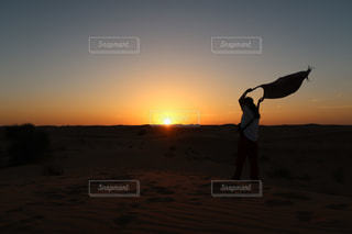 砂漠の写真・画像素材[1689809]