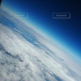 飛行機からの宇宙感の写真・画像素材[2462288]
