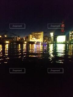新潟の夜の写真・画像素材[3793614]