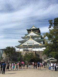 大阪城の写真・画像素材[2487173]