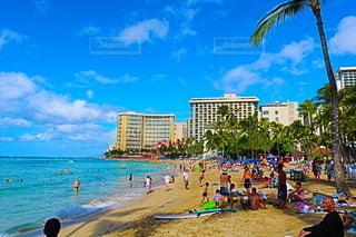 ハワイのビーチの写真・画像素材[2472050]
