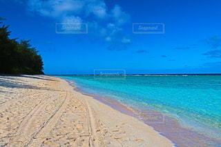 南国の砂浜の写真・画像素材[3224666]