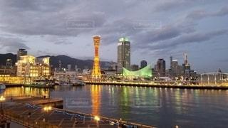 神戸の夜景の写真・画像素材[3224908]