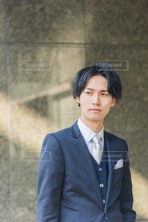 スーツ 男性の写真・画像素材[3150287]