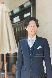 スーツ 男性の写真・画像素材[3150297]