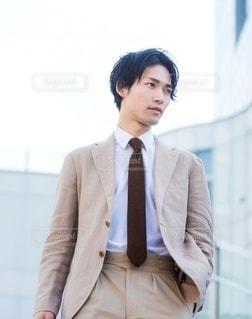 スーツ 男性の写真・画像素材[3167463]
