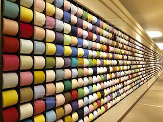 タオル美術館 チーズ壁の写真・画像素材[2467706]