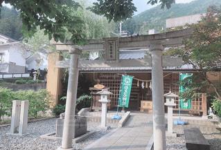 かえる神社の写真・画像素材[2468363]